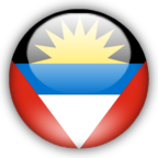 Antigua Barbuda flag myspace, friendster, facebook, and hi5 comment graphics