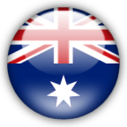 Australia flag myspace, friendster, facebook, and hi5 comment graphics