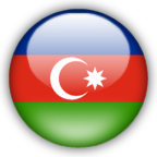 Azerbaijan flag graphics