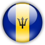 Barbados flag graphics