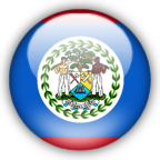 Belize flag graphics