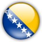 Bosnia Herzegovina flag graphics