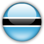 Botswana flag graphics