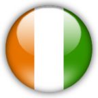Cote D Ivoire flag myspace, friendster, facebook, and hi5 comment graphics