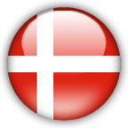 Denmark flag graphics
