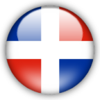 Dominican Republic flag graphics