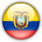 Ecuador flag graphics