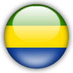 Gabon flag graphics