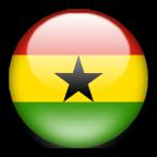 Ghana flag graphics