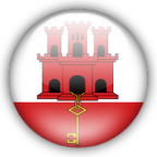 Gibraltar flag graphics
