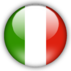 Italy flag graphics