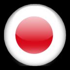 Japan flag graphics