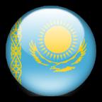 Kazakhstan flag graphics