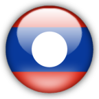 Laos flag graphics