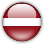 Latvia flag graphics