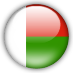 Madagascar flag graphics