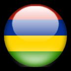 Mauritius flag graphics