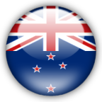 New Zealand flag myspace, friendster, facebook, and hi5 comment graphics
