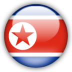 North Korea flag myspace, friendster, facebook, and hi5 comment graphics