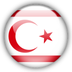 Northern Cyprus flag graphics