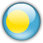 Palau flag graphics