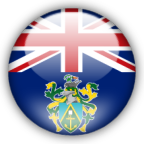 Pitcairn Islands flag graphics
