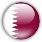 Qatar flag graphics