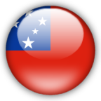 Samoa flag myspace, friendster, facebook, and hi5 comment graphics