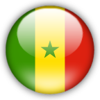 Senegal flag graphics
