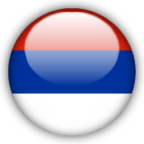 Serbia Montenegro flag myspace, friendster, facebook, and hi5 comment graphics