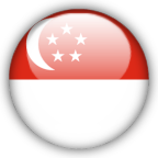 Singapore flag graphics