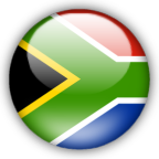 South Africa flag graphics