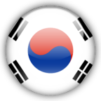 South Korea flag graphics