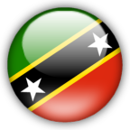 St Kitts Nevis flag myspace, friendster, facebook, and hi5 comment graphics