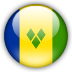 St Vincent Grenadines flag myspace, friendster, facebook, and hi5 comment graphics
