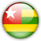 Togo flag graphics