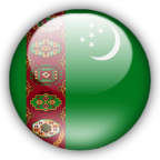 Turkmenistan flag graphics