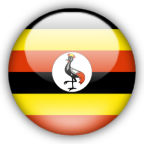 Uganda flag myspace, friendster, facebook, and hi5 comment graphics