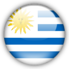 Uruguay flag myspace, friendster, facebook, and hi5 comment graphics