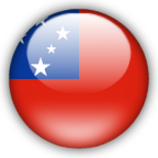 Western Samoa flag myspace, friendster, facebook, and hi5 comment graphics