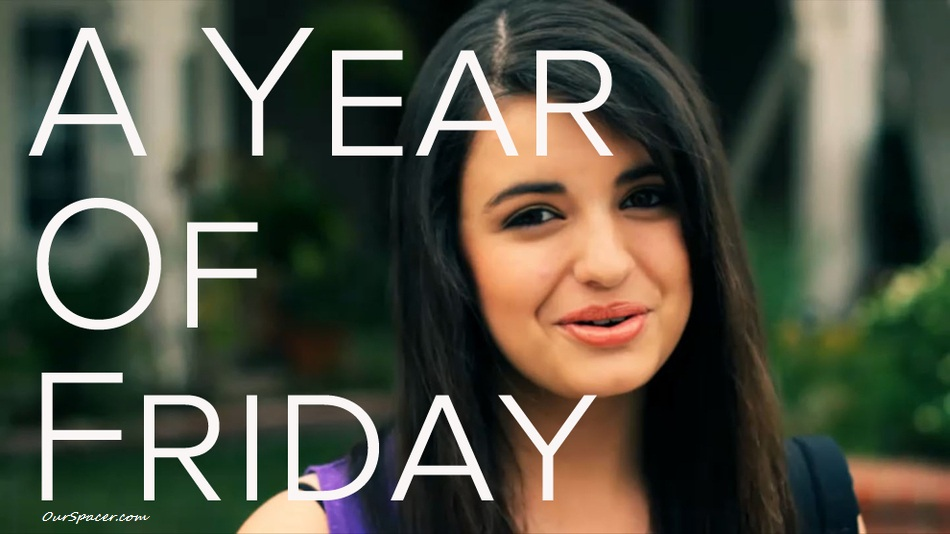 Rebecca Black, a year of Friday myspace, friendster, facebook, and hi5 comment graphics