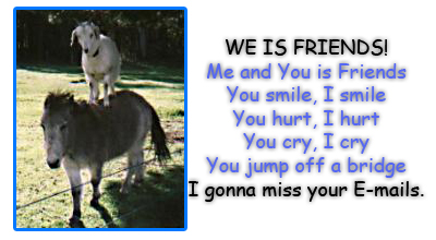 We is friends, me and you is friends myspace, friendster, facebook, and hi5 comment graphics