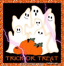 trick or treat ghosts graphics