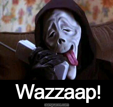 scream mask wazzzaap graphics