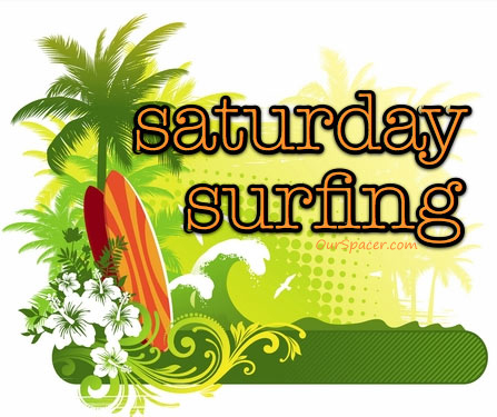 Saturday surfing graphics